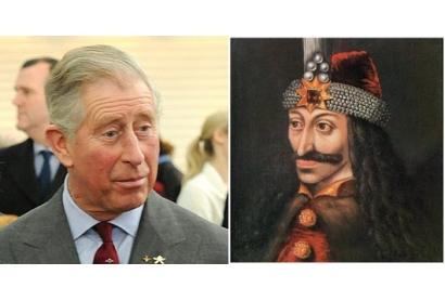 """Printul Charles: """"Descind din Vlad Tepes!"""""""