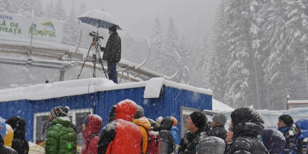 "Pavel Shabalin: ""Alpinismul se termina acolo unde se termina oxigenul"". Cupa Mondiala de Escalada pe Gheata, ziua a II-a"