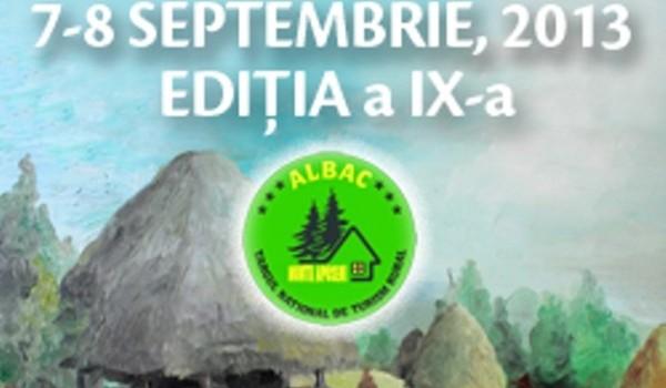 TÂRGUL NAȚIONAL DE TURISM RURAL DE LA ALBAC  – ediția a IX-a