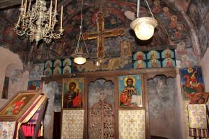 Interior - biserica Sf. Paraschiva