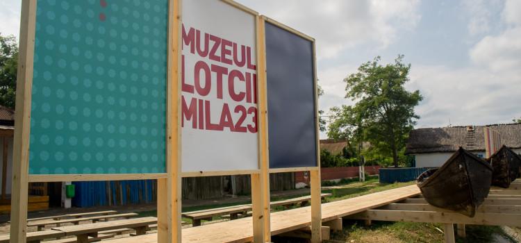 Lotca are un muzeu la Mila 23!