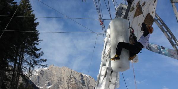 Cupa Mondială de Cățărare pe Gheață – Buşteni, 16-18 ianuarie 2014