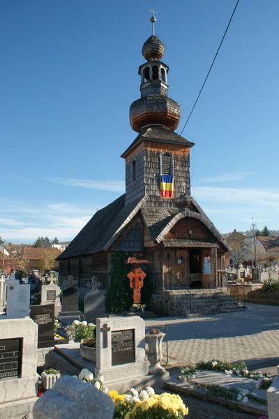 Tg. Mures - biserica in care s-a adapostit M. Eminescu