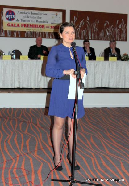 Clara Mărculescu, președintele Eastern Danube Convention & Visitors Bureau