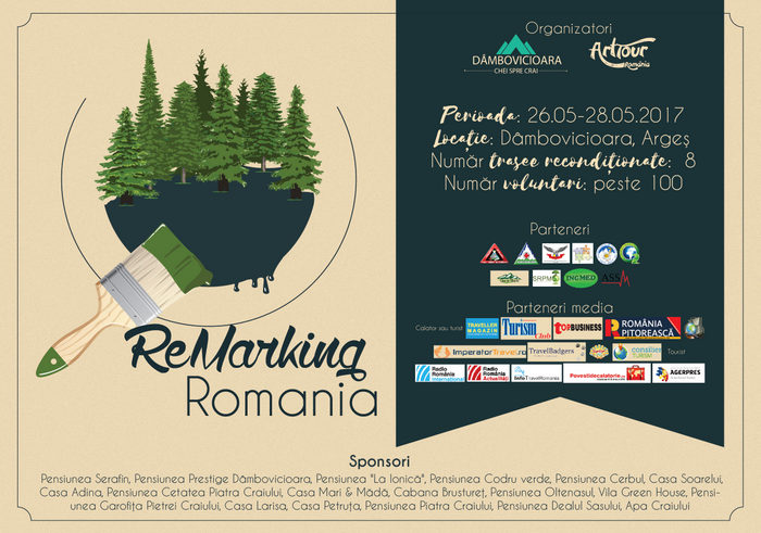 """ReMarking Romania"", cel mai mare proiect de remarcare trasee montane din România"