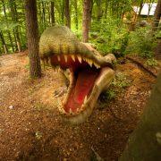 Dinozaurii din Râşnov, vizitaţi de peste 1 milion de turişti