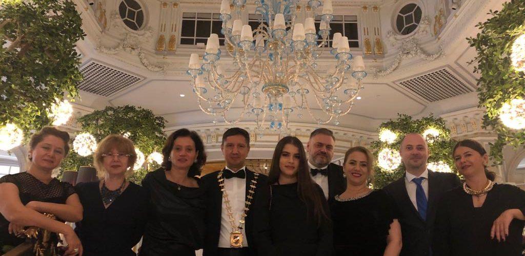 SKAL București la aniversarea de 70 de ani a SKAL Roma