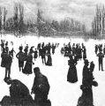 Iarna, în Cișmigiul de altădată…